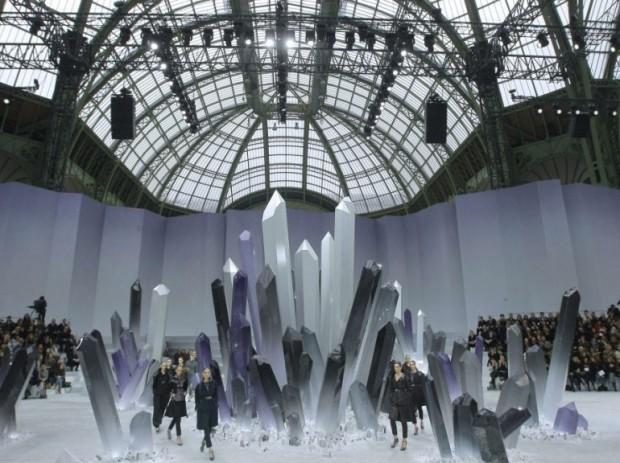 Défilé Automne-Hiver 2013 de Chanel, au Grand Palais
